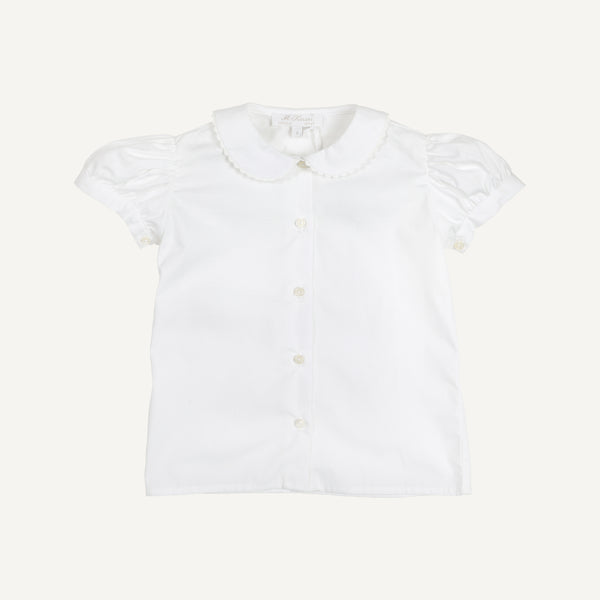 M.FERRARI PETER PAN COLLAR SHIRT