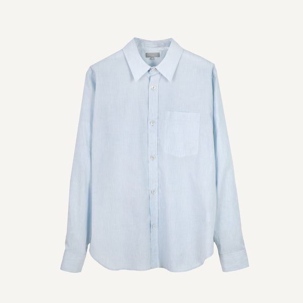 MARGARET HOWELL MEN'S END-ON-END SHIRT