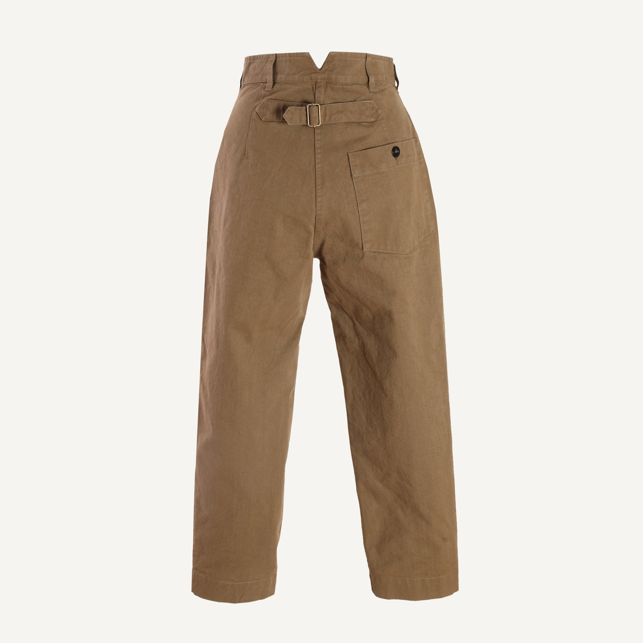 MHL WOMEN'S CINCHED BACK TAPERED TROUSERS