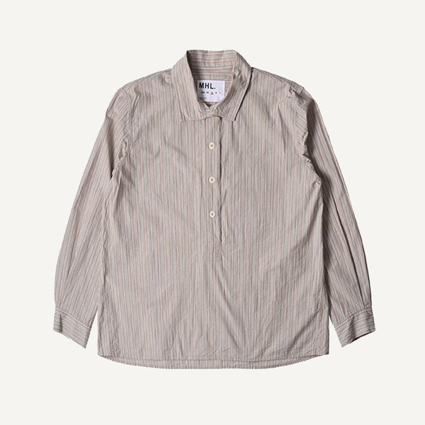 MHL WOMEN'S COLLARED SWING SHIRT