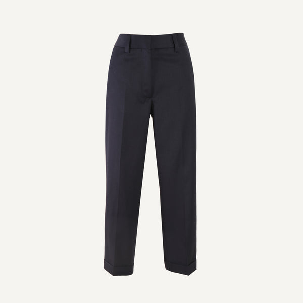 MARGARET HOWELL TAPERED FLAT FRONT TROUSERS