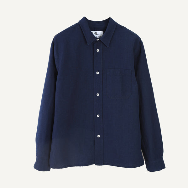 MHL MEN'S INDIGO PAINTERS SHIRT