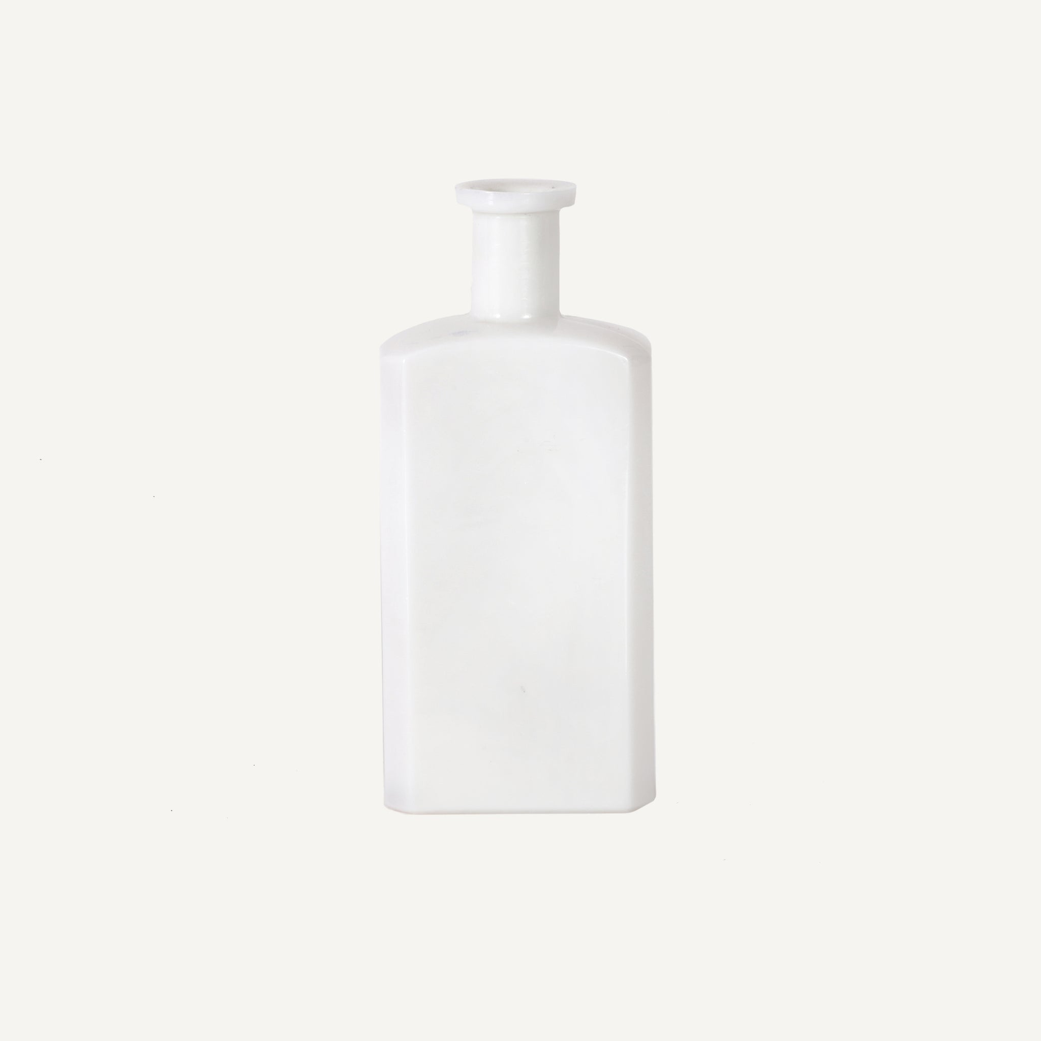 ANTIQUE MILK GLASS BOTTLE