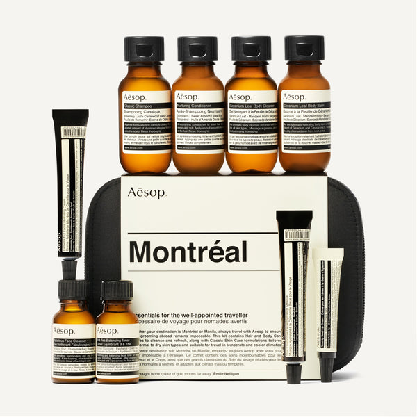 AESOP MONTREAL TRAVEL KIT