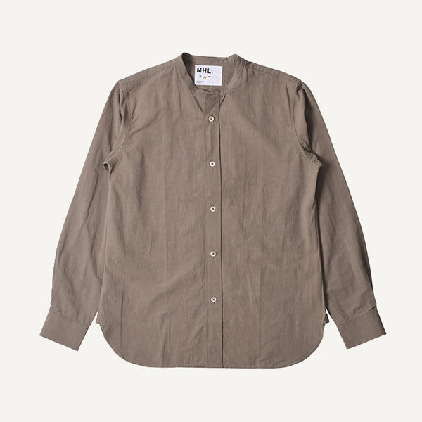 MHL MEN'S COLLARLESS SHIRT