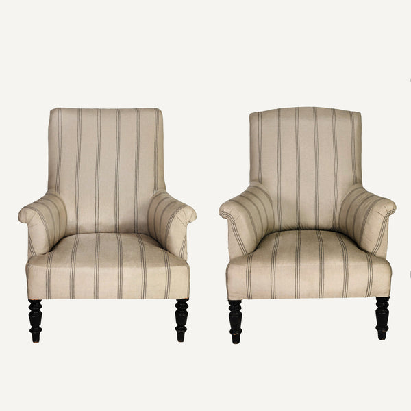 ANTIQUE NAPOLEONIC CHAIRS - PAIR