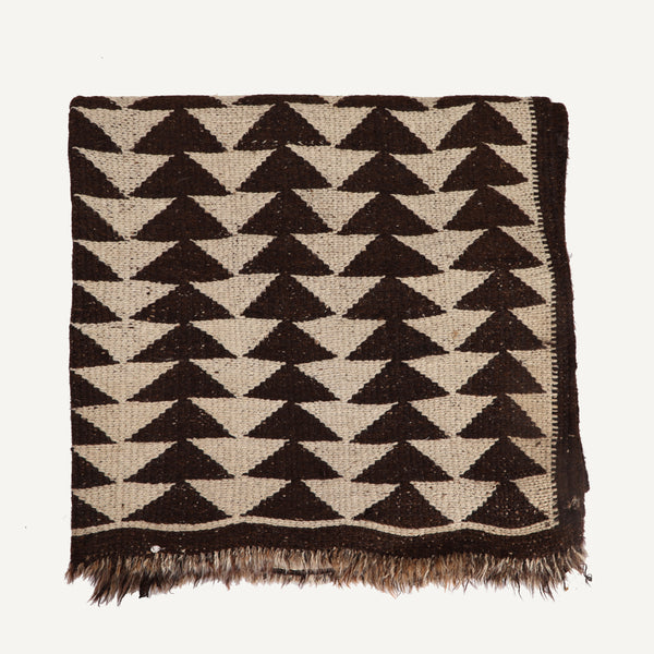 ANTIQUE HANDWOVEN TRIBAL RUG
