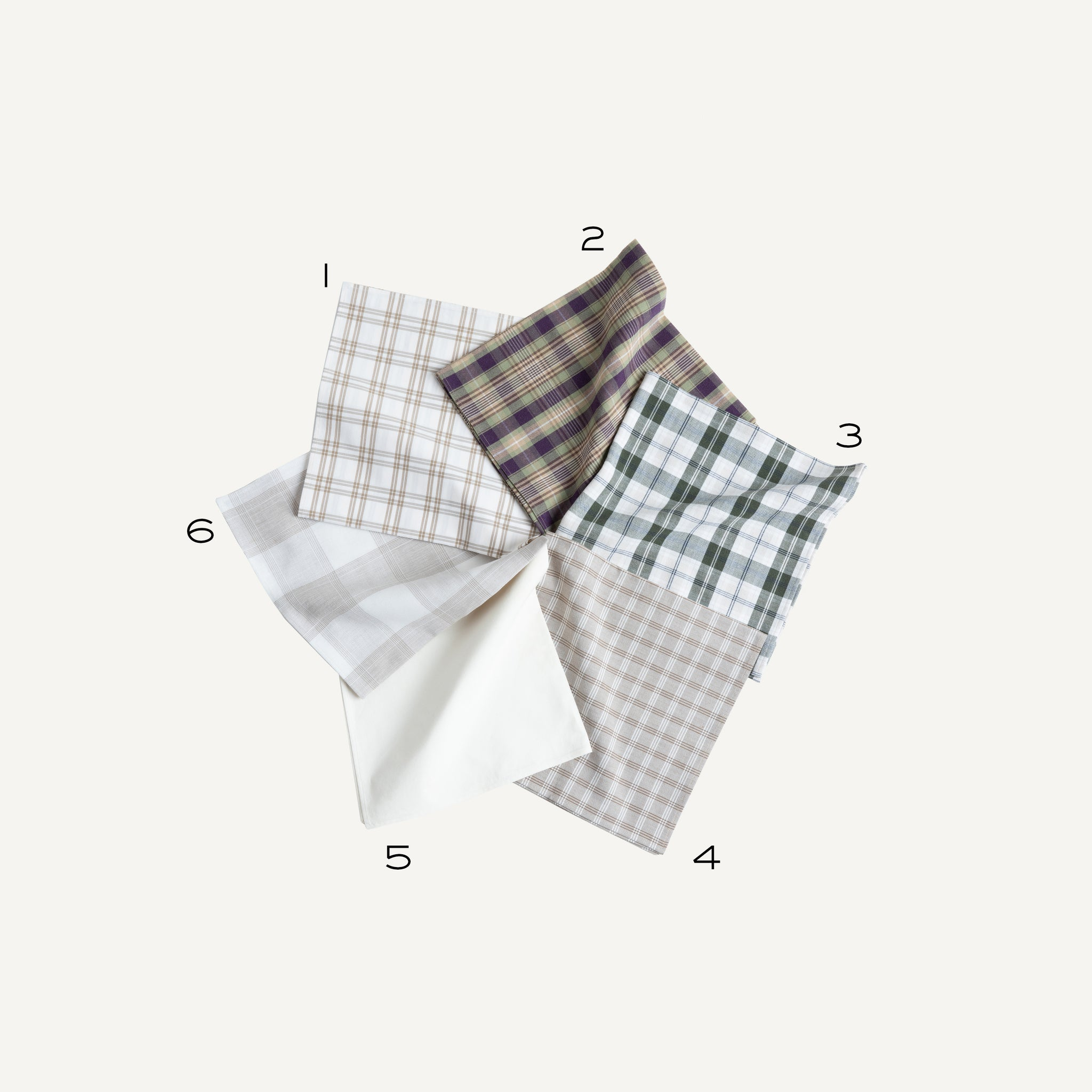 PLAIN GOODS VINTAGE SHIRTING NECKERCHIEF