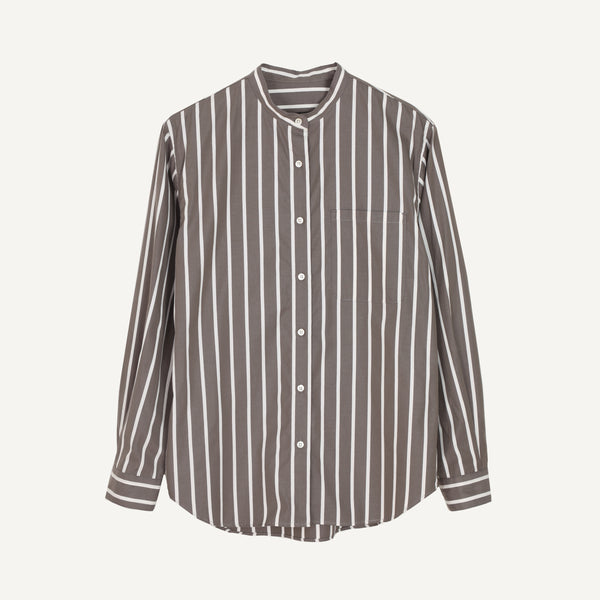 NICO BAND-COLLAR SHIRT
