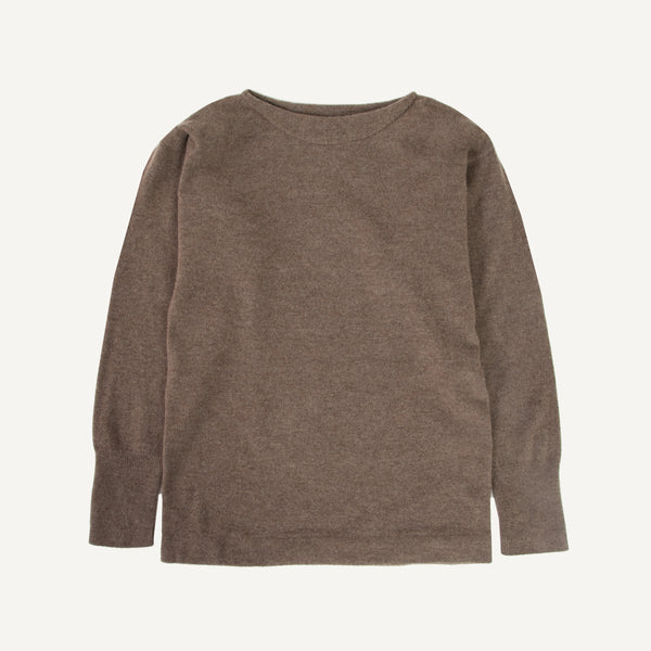 NICO WOOL OVAL NECK SWEATER