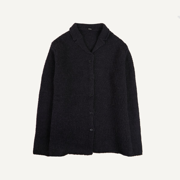 APUNTOB NOTCH-LAPEL CARDIGAN