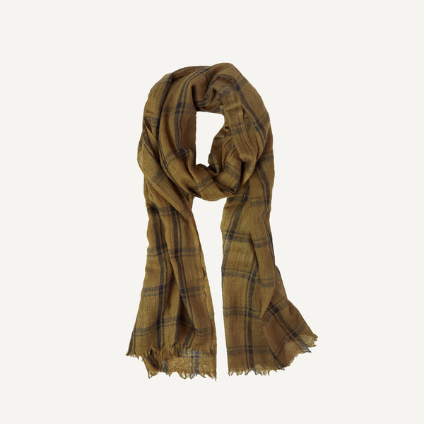 PLAIN GOODS FINE WOOL SCARF