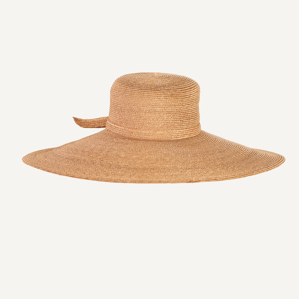 VINTAGE STRAW HAT BY FRANK OLIVE