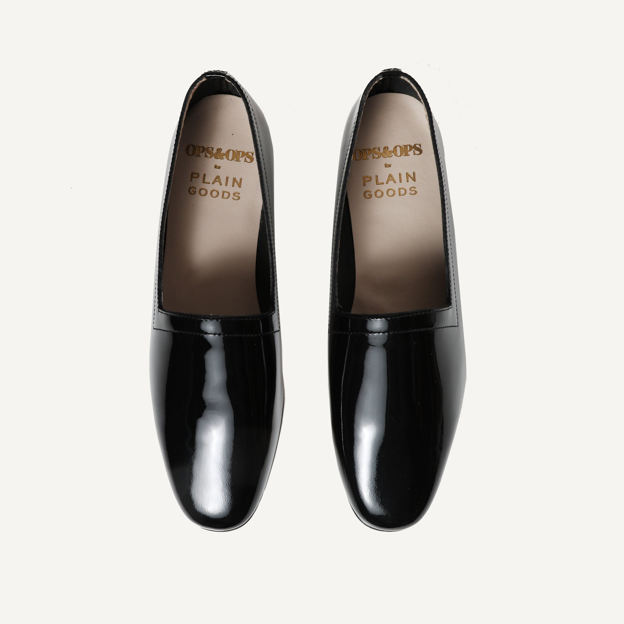 PLAIN GOODS + OPS & OPS LEATHER LOAFER