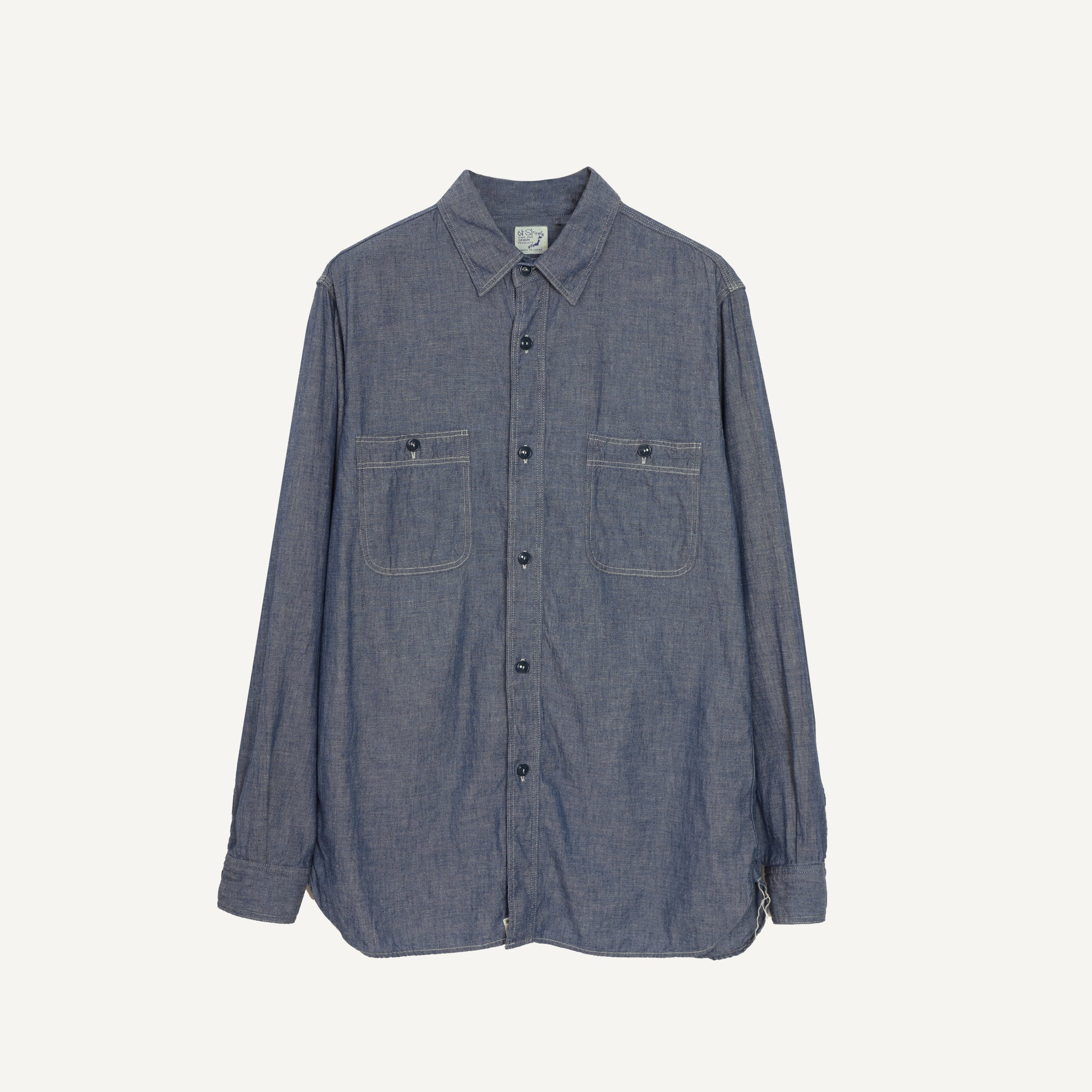 ORSLOW CHAMBRAY WORKSHIRT