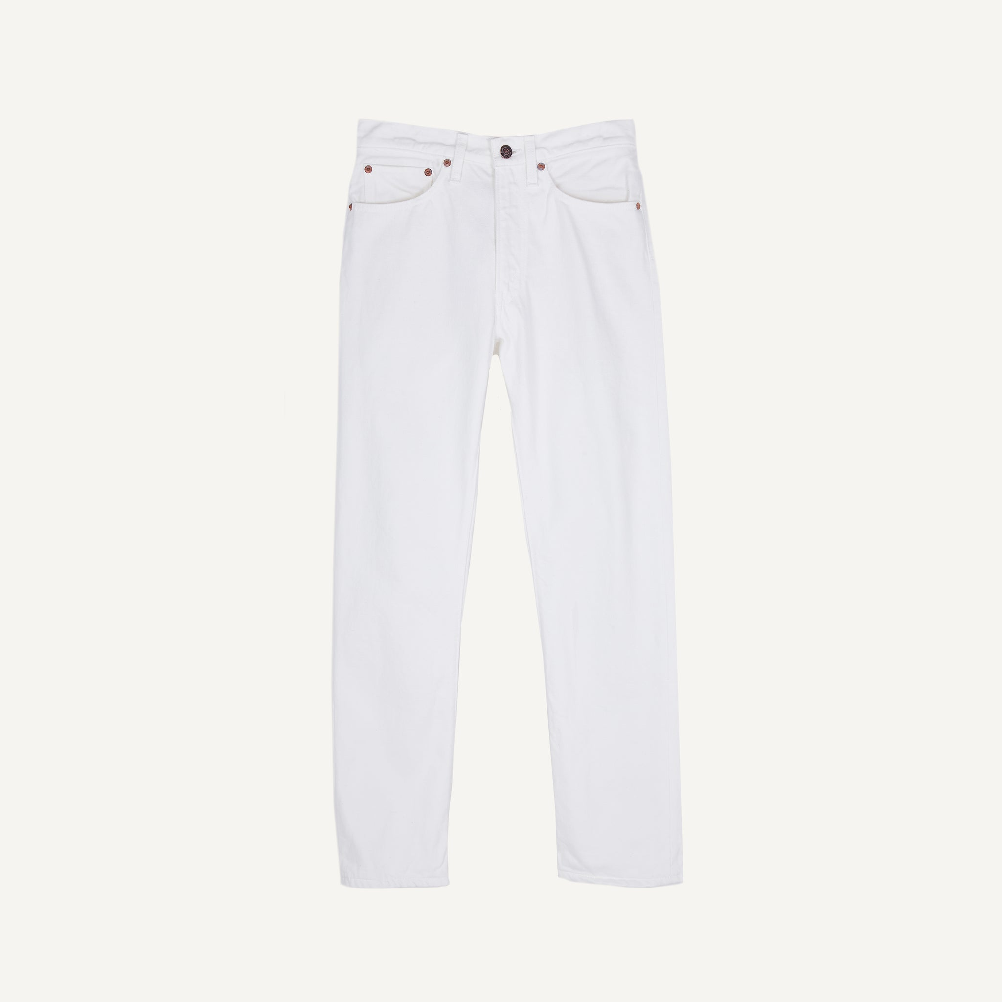 ORSLOW 107 WHITE DENIM