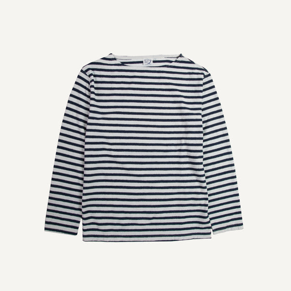 ORSLOW INDIGO STRIPED JERSEY