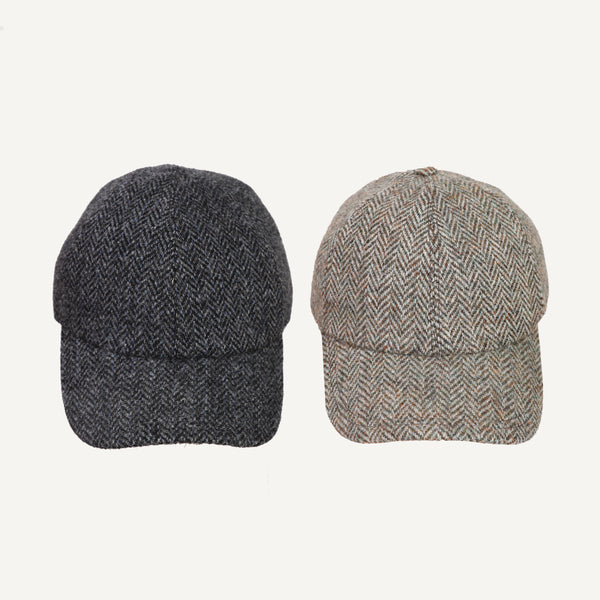 PLAIN GOODS HARRIS TWEED WOOL CAP