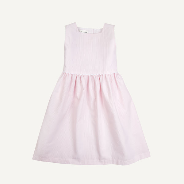 PLAIN GOODS SQUARE NECK DRESS