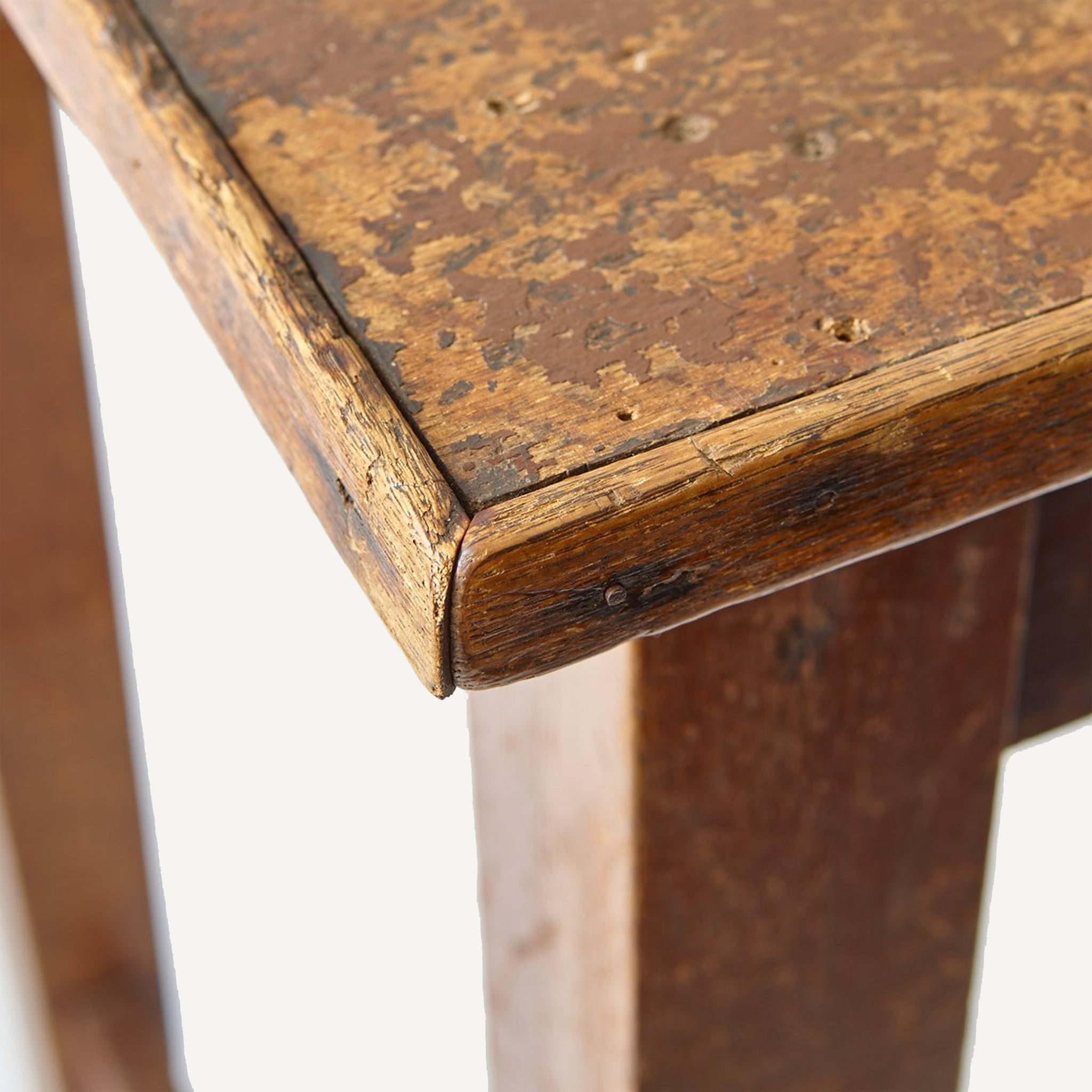 ANTIQUE POSTAL TABLE