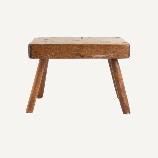 ANTIQUE PRIMITIVE STOOL