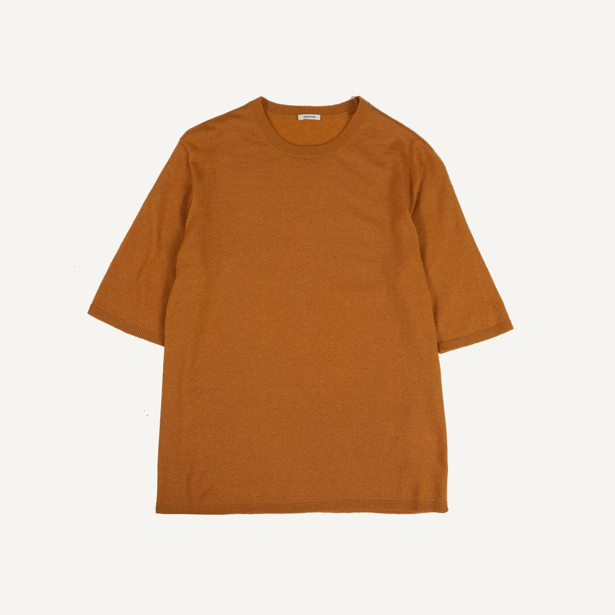 APUNTOB SHORT SLEEVE SWEATER
