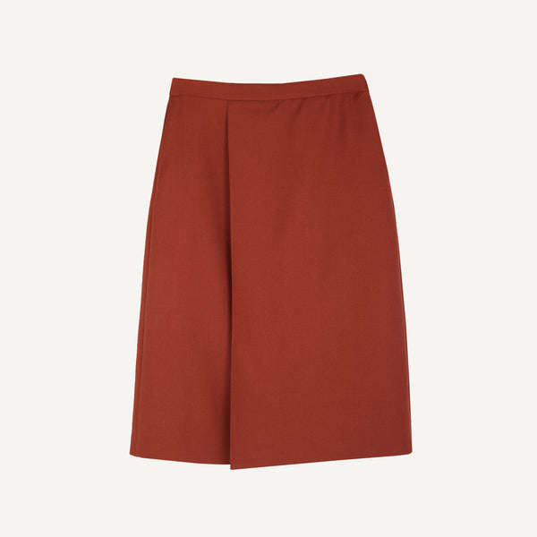 UZUPIO KETURIOLIKA SINGLE-PLEAT SKIRT