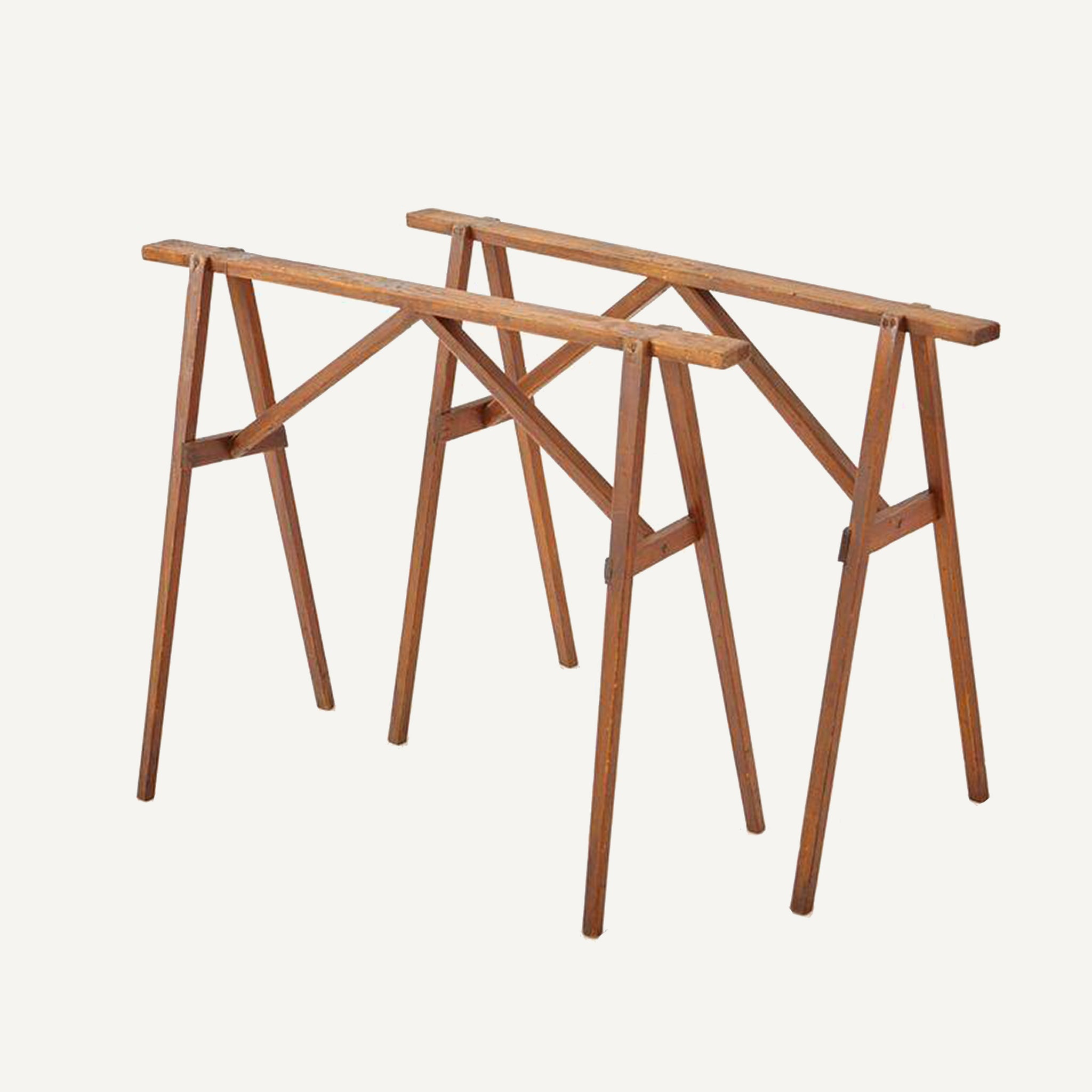 ANTIQUE SAWHORSE TABLE