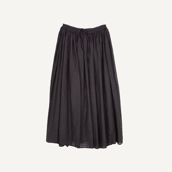MAISON DE SOIL GATHERED SKIRT