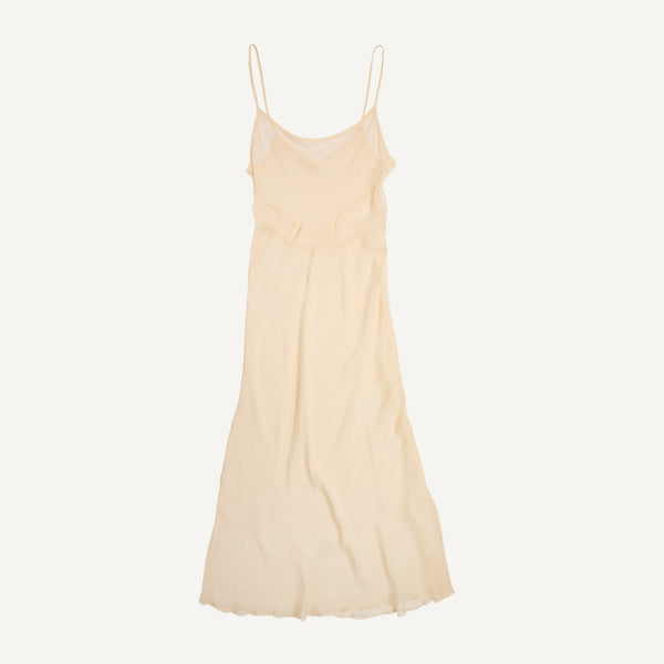 VINTAGE 1930'S SILK SLIP DRESS