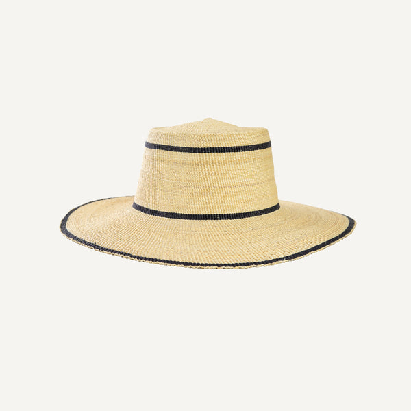 PLAIN GOODS STRAW HAT