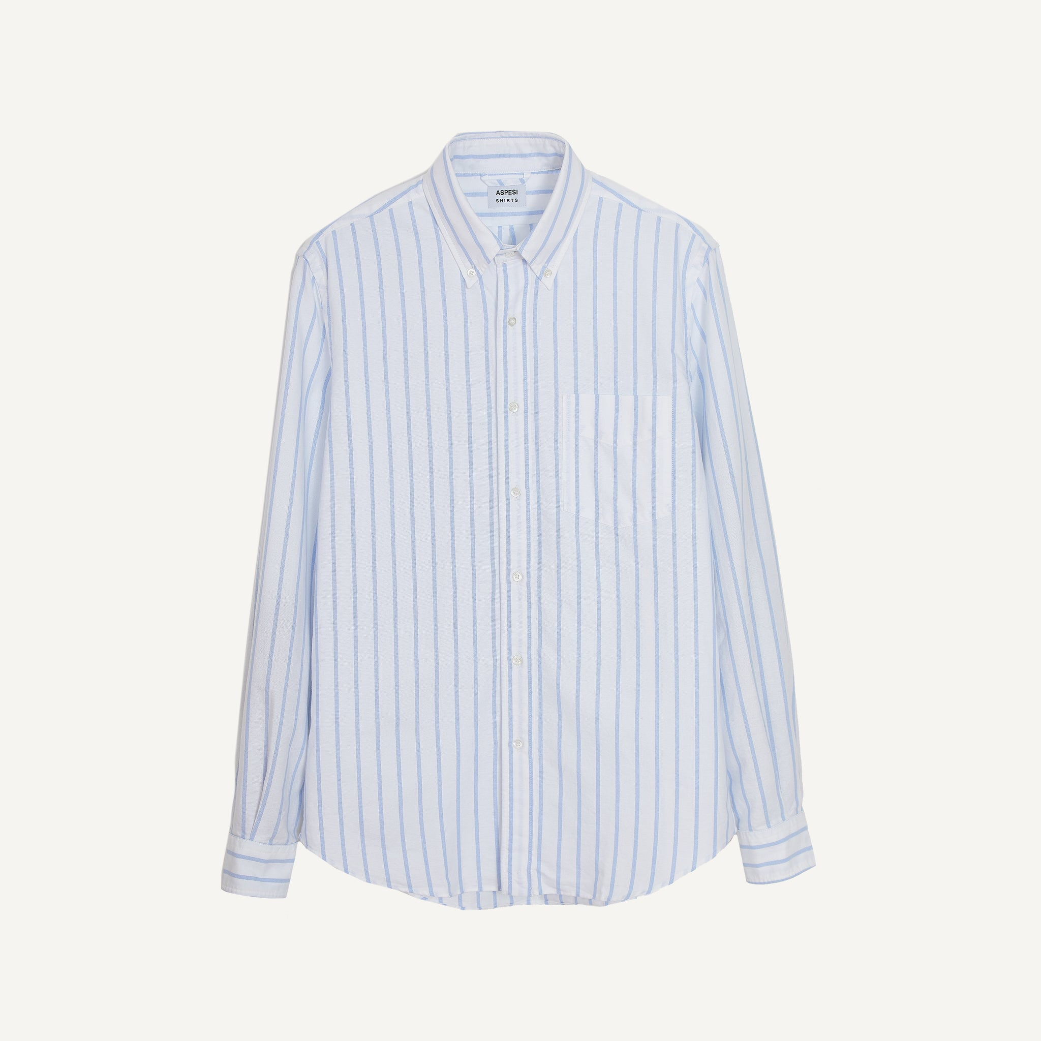 ASPESI STRIPED OXFORD SHIRT