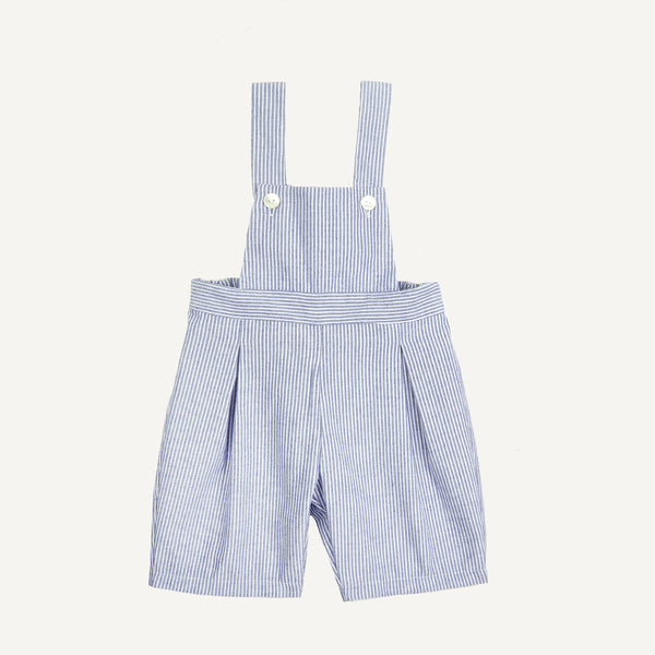 PLAIN GOODS SUSPENDER SHORTS