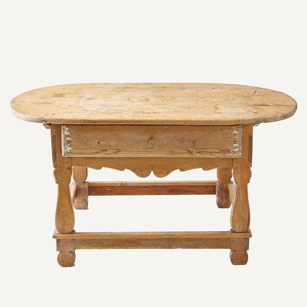 ANTIQUE SWEDISH TABLE WITH DRAWER