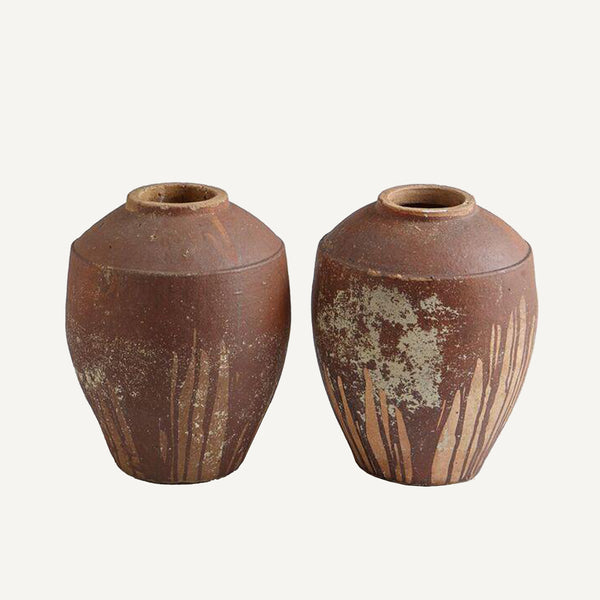 ANTIQUE TERRACOTTA POTS