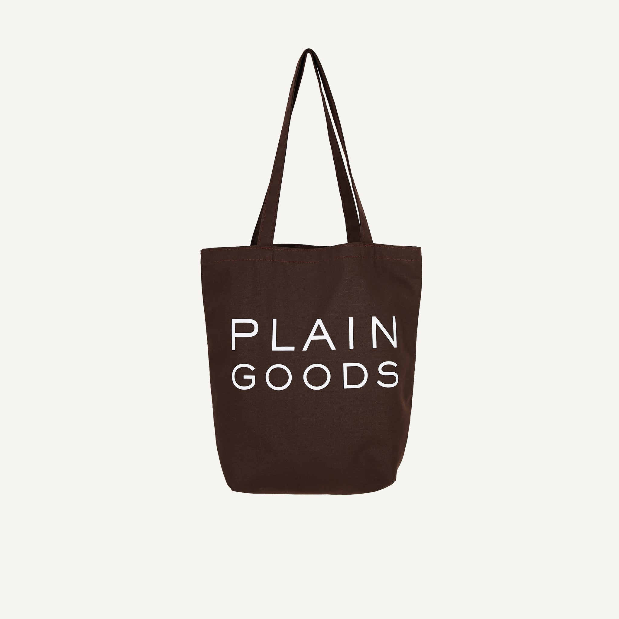 PLAIN GOODS ORGANIC COTTON TOTE