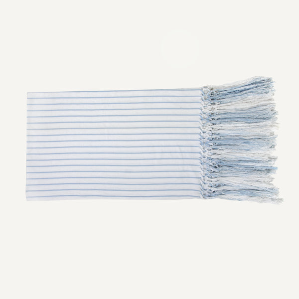 VINTAGE STRIPED LINEN TOWEL