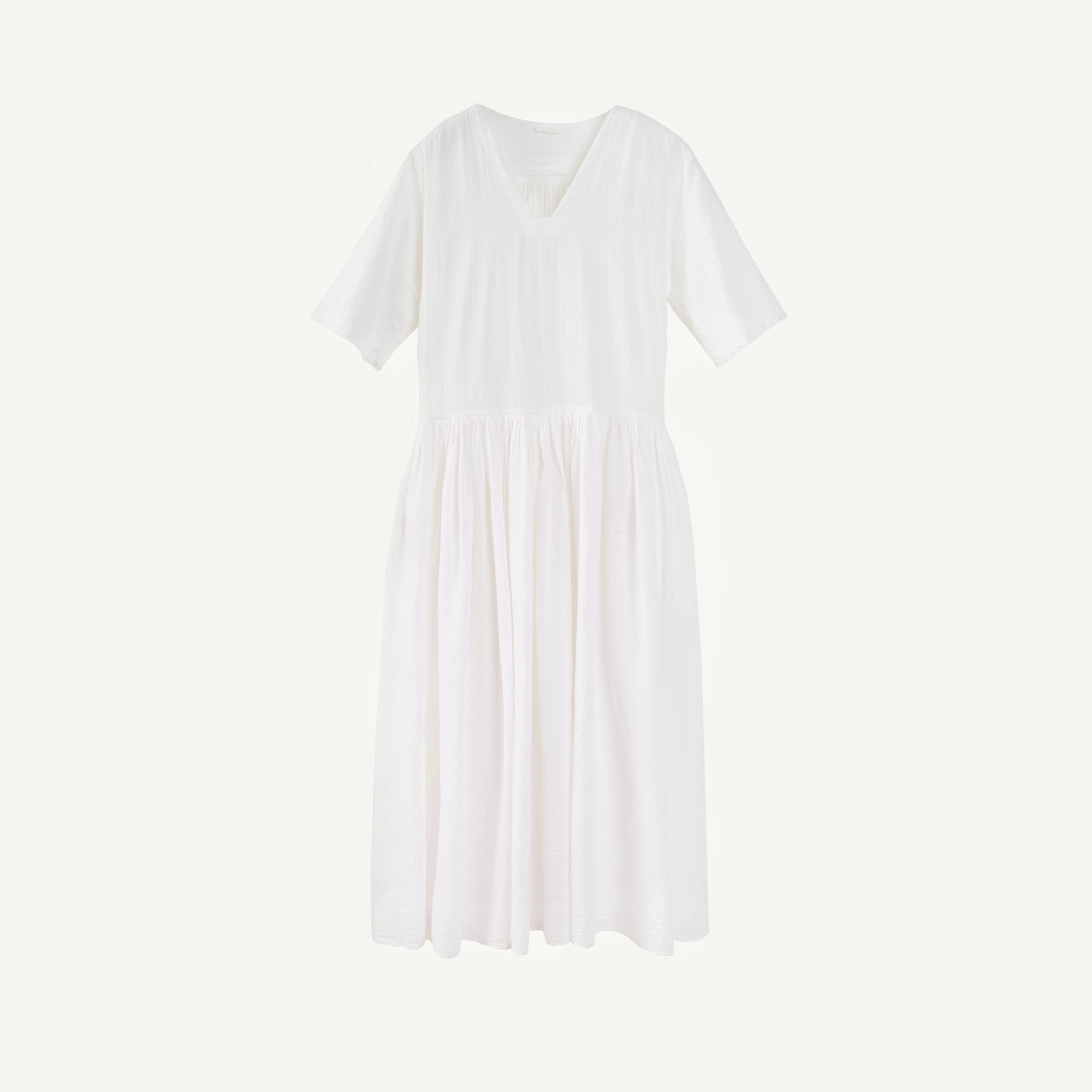 EAST BY EAST WEST SNOWDROP DRESS