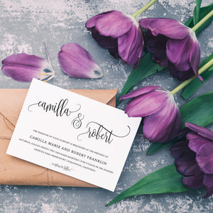 Check out our new video featuring selections from our wedding stationery