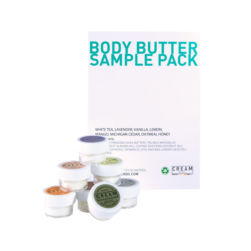 SEVEN SCENTS BODY BUTTER SAMPLE PACK