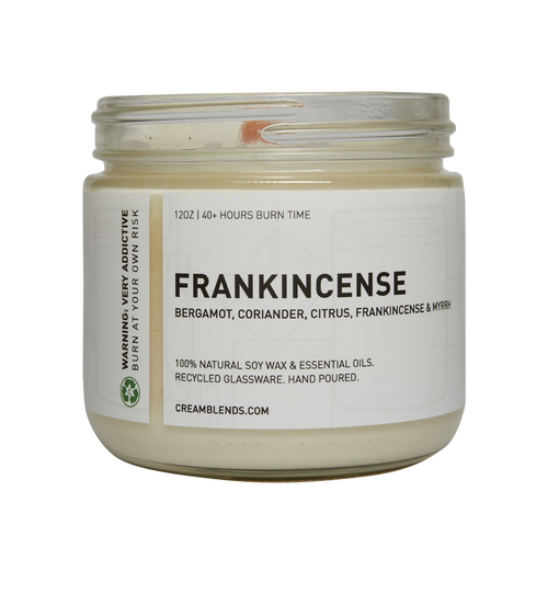 Frankincense Soy Candle