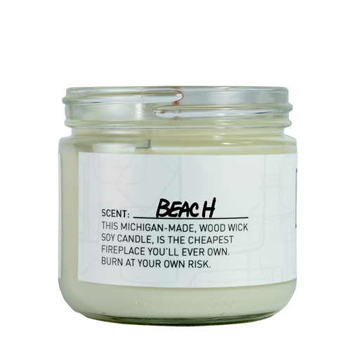 Beach Soy Candle