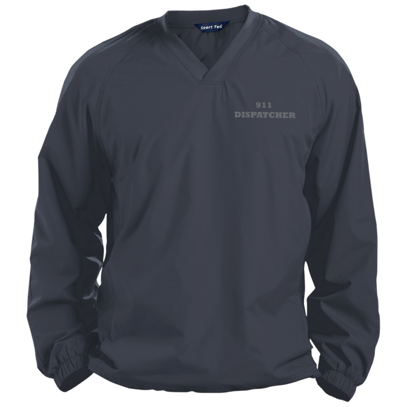 products/911-dispatch-sport-tek-pullover-v-neck-windshirt-jackets-graphite-x-small-454501.png