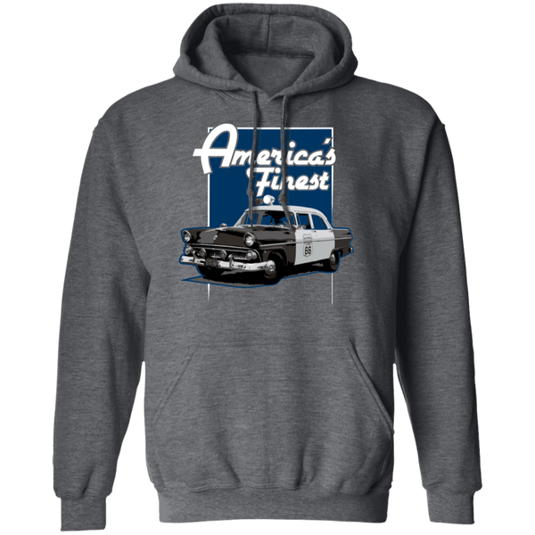 America's Finest Hoodie Sweatshirts Dark Heather S