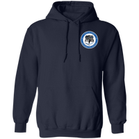 Beyond the Badge Double Sided Hoodie Sweatshirts Navy S