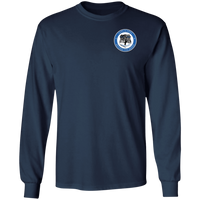 Beyond the Badge Long Sleeve Double Sided T-Shirt T-Shirts Navy S