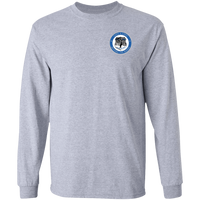 Beyond the Badge Long Sleeve Double Sided T-Shirt T-Shirts Sport Grey S