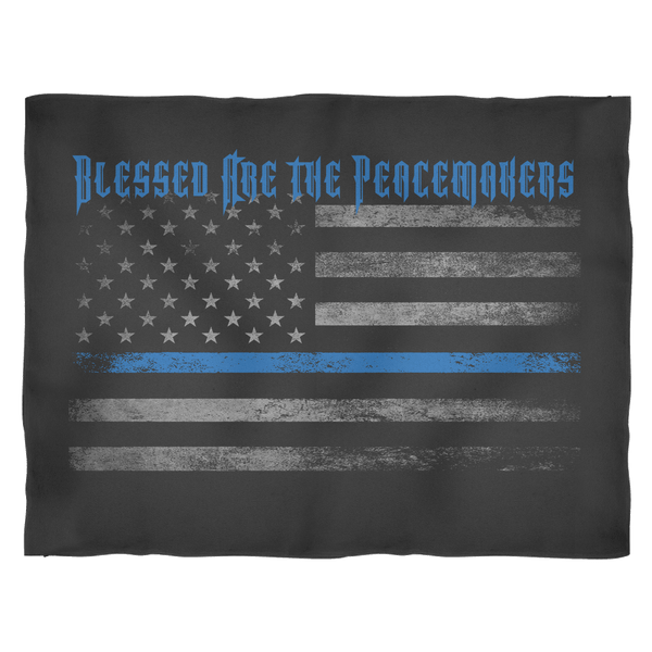Blessed Are the Peacemakers Comfort Blanket Blankets teelaunch Small Fleece Blanket