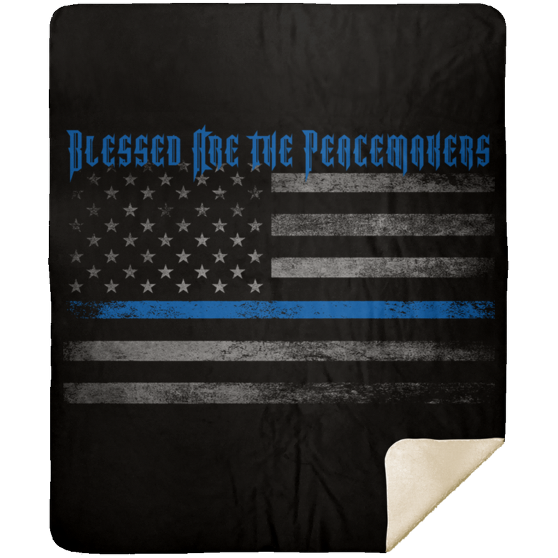 products/blessed-are-the-peacemakers-premium-mink-sherpa-blanket-blankets-black-50x60-305759.png