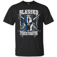 Blessed Are The Peacemakers Shirt T-Shirts CustomCat